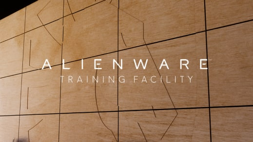 Alienware training facility indoor photograph